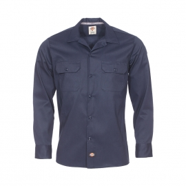 Chemise droite Dickies bleu marine