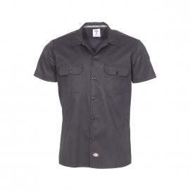 Chemise manches courtes droite Dickies noire