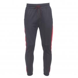 Pantalon de jogging Diesel noir à liserés rouges