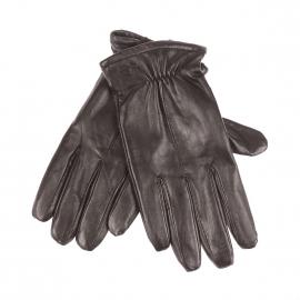 Gants Dockers en simili-cuir noir