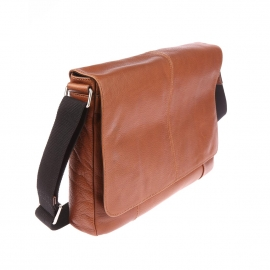 Porte-documents/ Porte-ordinateur 13 pouces Mayfair Fossil en cuir cognac
