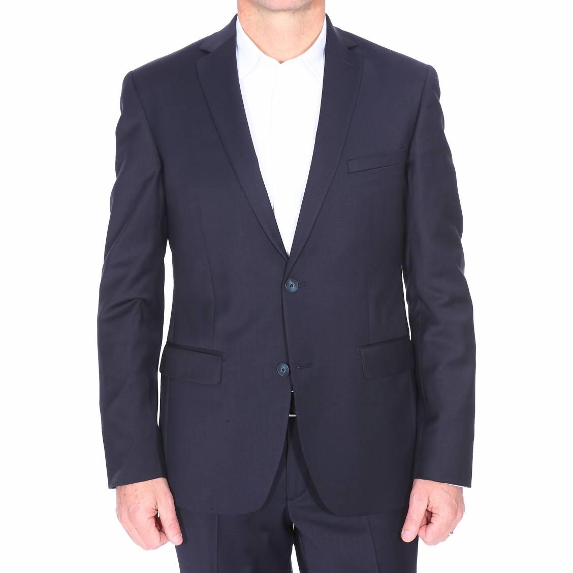 Costume cintré Gianni Ferrucci bleu marine