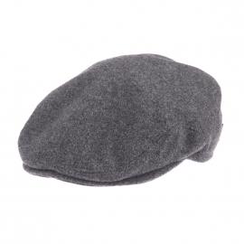 Casquette Bristol-K Göttmann en laine gris anthracite avec cache oreilles