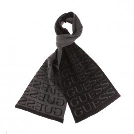 Echarpe Guess noire imprimé