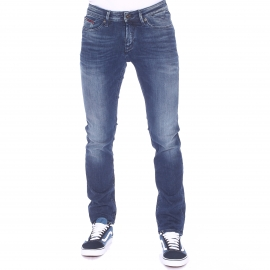 Jean slim Scanton Hilfiger Denim bleu clair patiné