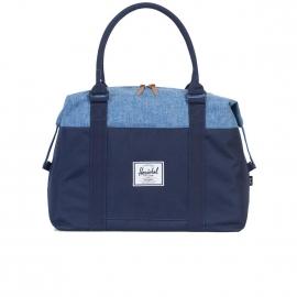 Sac 48H Herschel Strand bleu marine et bleu jean