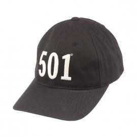 Casquette Baseball Levi's noire brodée 501