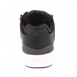 Baskets Black Tab Runner Levi's en cuir simili-cuir noir