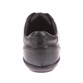 Baskets Chula Vista Levi's en cuir noir