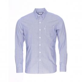 Chemise ajustée Levi's à petits carreaux bleus et blancs