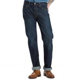 Jean Levi's 501 Original Fit Smith Station bleu foncé