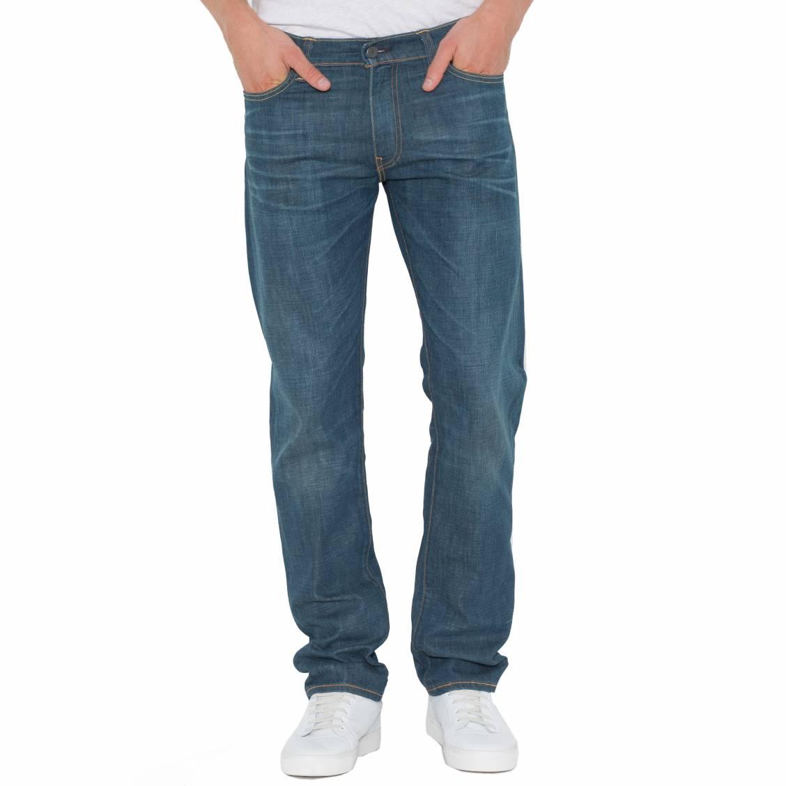 Jean Levi's 504 Regular Straight Fit Explorer. JeanLevi's® 504- Coton (98%), Elasthanne (2%)-Tissu légèrement éla