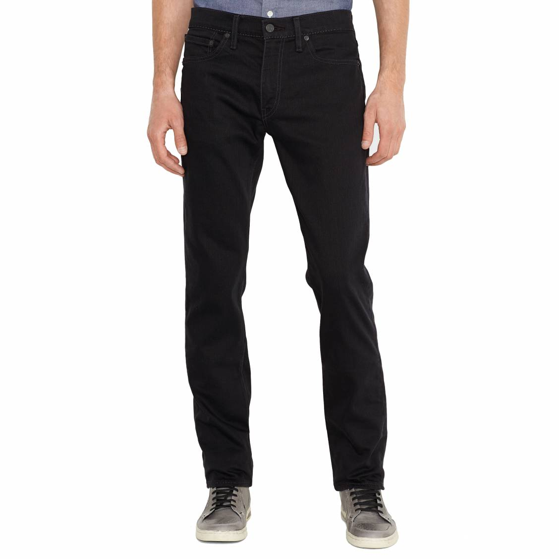 Jean Levi's 511 slim fit Moonshine noir. Jean homme Levi's- Coton (98%), Elasthanne (2%)- Noir- Coupe slim- Taille basse- Bas et cuisses resserr&eacut