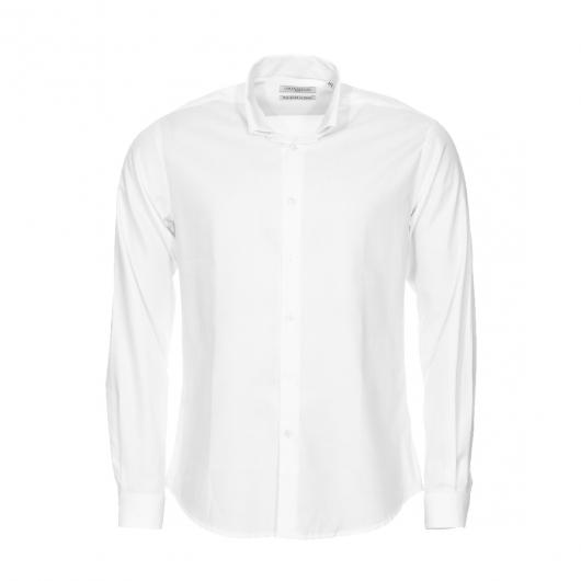chemise droite monsieur paris en oxford blanc col. Black Bedroom Furniture Sets. Home Design Ideas