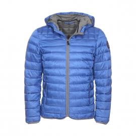 Doudoune à capuche Napapijri Aerons B bleu roi, rembourrage en thermo-fibre