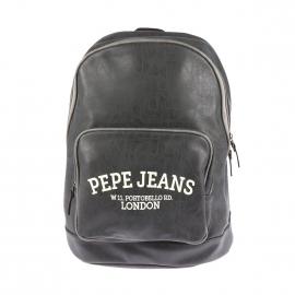 Sac à dos Pepe Jeans en simili cuir patiné anthracite