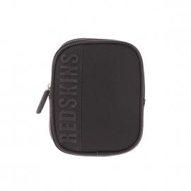 Petite sacoche Cooper Redskins en néoprène et simili-cuir noir