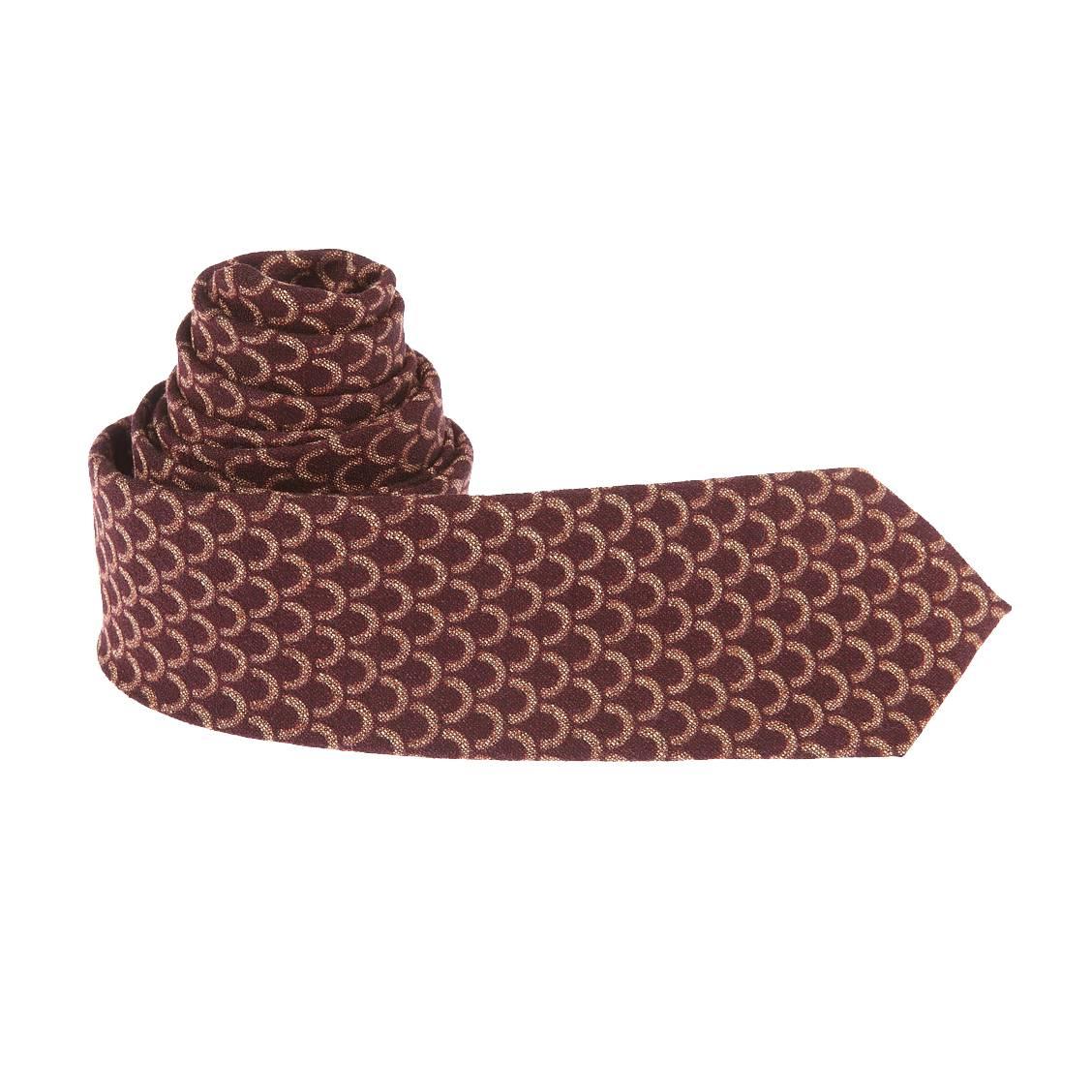 cravate-scotch-et-soda-bordeaux-a-motifs-ecailles-cuivrees