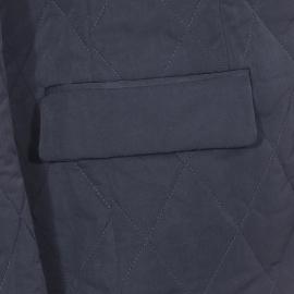 Veste matelassée coupe blazer Scotch&Soda bleu marine