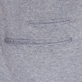 Blazer Selected à motifs chevrons gris chiné
