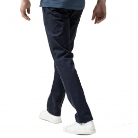 Pantalon chino Selected bleu marine