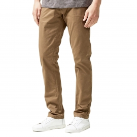 Pantalon chino Selected marron clair