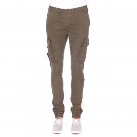 Pantalon cargo Superdry en coton kaki