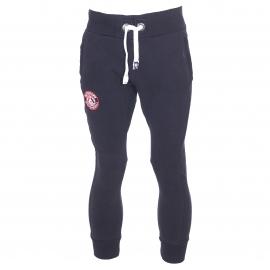 Pantalon de jogging Superdry bleu marine avec écusson