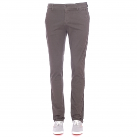 Pantalon Chino TBS en coton anthracite
