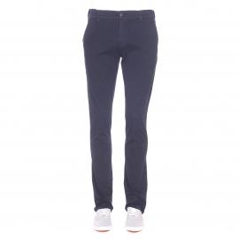 Pantalon Chino TBS en coton bleu marine