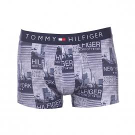 Boxer Tommy Hilfiger en coton stretch à motifs photos de New York bleues