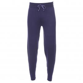 Pantalon de jogging Tommy Hilfiger en mailles douces bleu marine