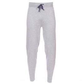 Pantalon de jogging Tommy Hilfiger en mailles douces gris chiné