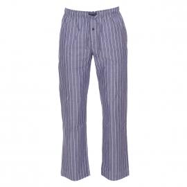 Pantalon d'intérieur Tommy Hilfiger en popeline de coton bleu jean à rayures