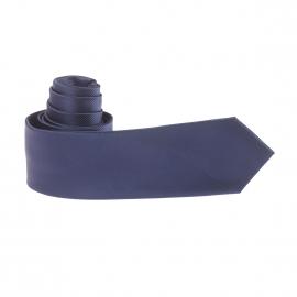 Cravate mi-slim bleu marine