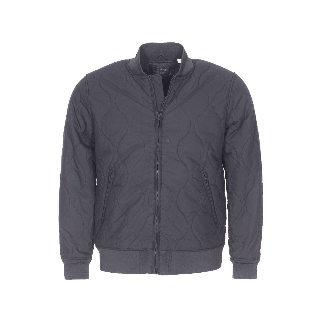 Levi's Quilted Noir Thermore Bomber Jacket TBHqq