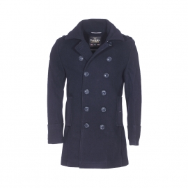 Caban Bridge Coat Superdry bleu marine