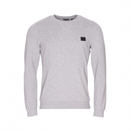 Sweat col rond Antony Morato gris chiné