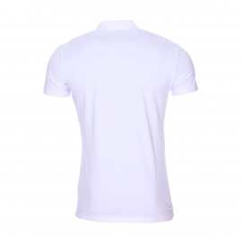 Polo Antony Morato en jersey de coton stretch blanc