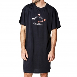 Maxi tee-shirt Arthur Mini Love noir