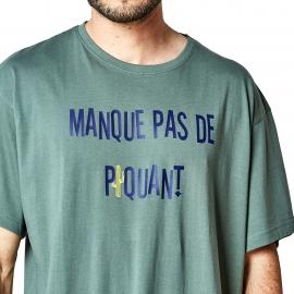 Maxi tee-shirt Arthur kaki