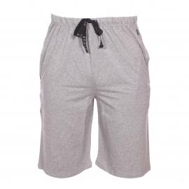 Bermuda de pyjama Arthur en coton et modal gris chiné