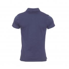 Polo Calvin Klein en coton bleu marine