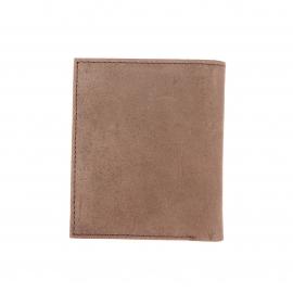 Petit portefeuille européen Dickies en cuir marron