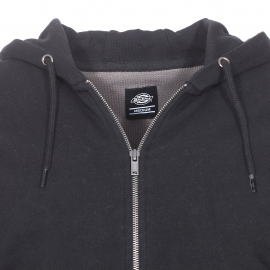 Sweat zippé à capuche Dickies Kingsley noir