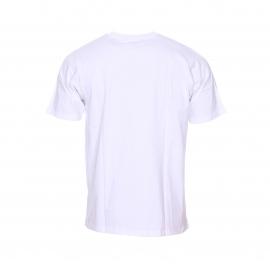 Tee-shirt col rond Dickies en coton blanc floqué du logo