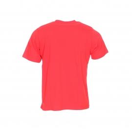 Tee-shirt col rond Dickies en coton rouge floqué du logo