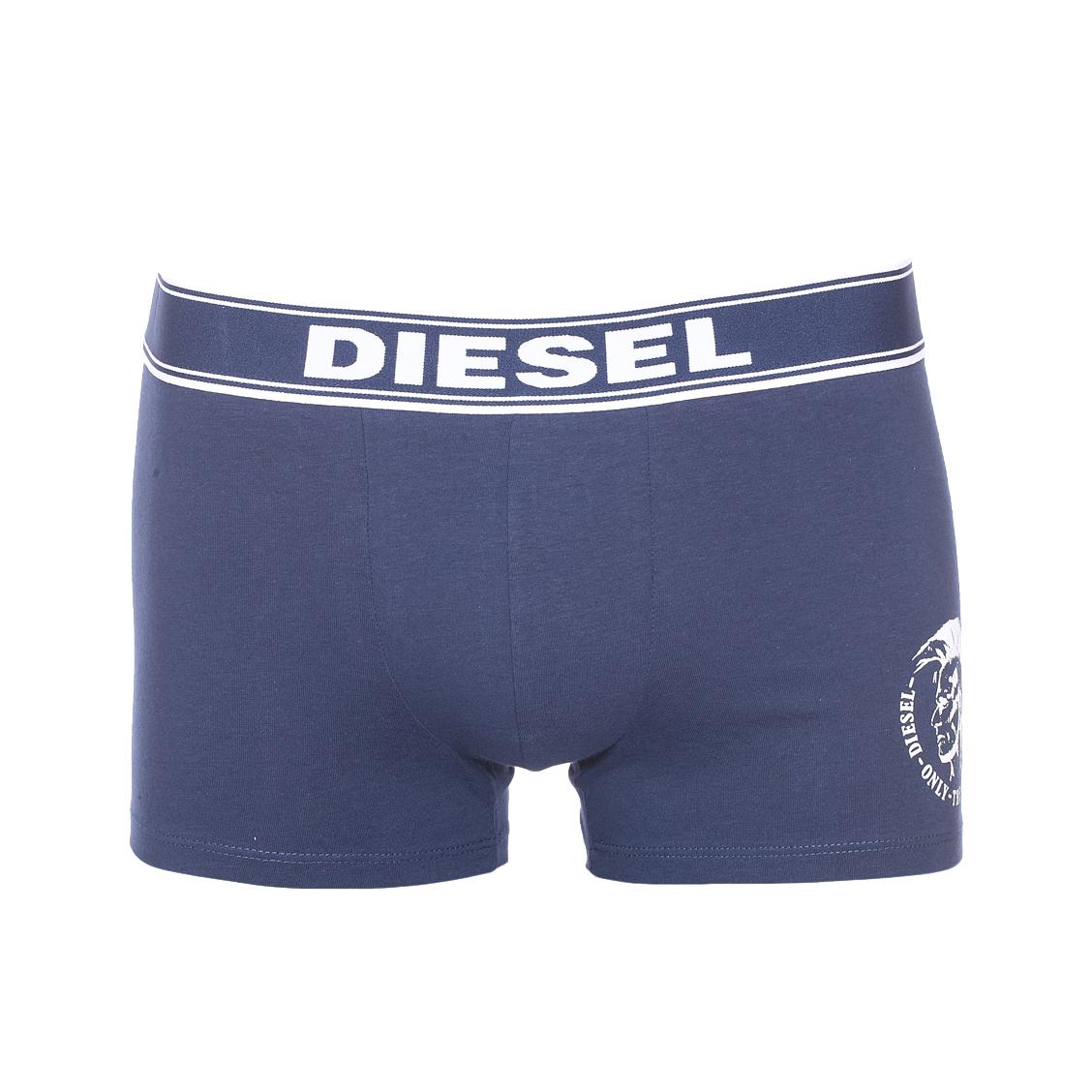 Boxer diesel the essential en coton stretch bleu marine