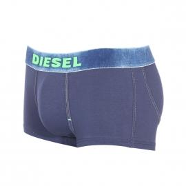 Shorty Diesel underdenim en coton stretch bleu marine à ceinture effet denim