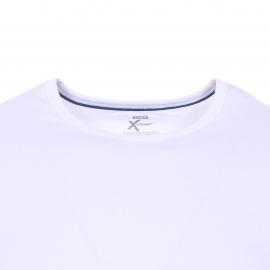 Lot de 2 tee-shirts col rond Dim X-temp en coton stretch blanc